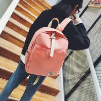 China Waterproof  Backpack College Students Canvas Bag For Men and Women Fashion Travel Bag on sale