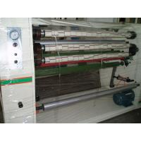 High Speed 0 -180M / Min 4 shafts Stationery Tape Slitting machine with razor blade Manufactures
