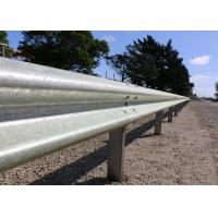 High Intensity Metal Highway Barriers , Cattle Guard Rail Various Sizes / Colors Manufactures