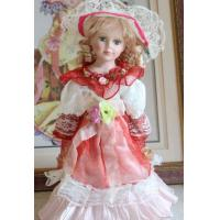 DIY Porcelain Doll for Home Decoration, Customized Designs are Accepted Manufactures
