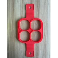 FBT121604 for wholesales silicone 4-holes pancake mold 4 shapes as option Manufactures