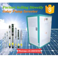 Quality 150HP Pump Motor Controller Solar Power Inverter with MPPT400-800VDC for sale