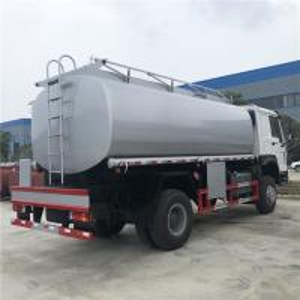 China HOT SALE! BEST PRICE! HOWO 266hp diesel fuel tanker truck, mobile refueler truck, diesel dispensing truck for sale on sale