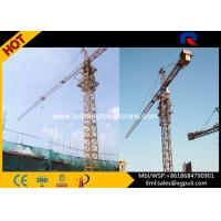 Building Electric Crane Tower , Large Cranes Construction 29M Freestanding Height Manufactures