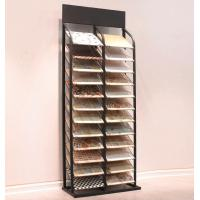 12 Layer 24 Piece Metal Floor Tile Display Rack Retail Showroom Fixtures Manufactures