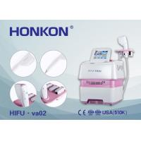 HIFU Shaping Face Skin Lifting Anti Aging Beauty Machine With 4 Head Manufactures