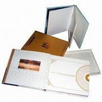 Cardboard CD/DVD Boxes, Various Kinds are Available, Customized Sizes and Designs are Accepted Manufactures