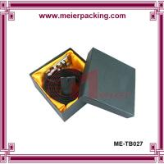 Custom men belt box, luxury design apparel packaging paper box ME-TB027 Manufactures