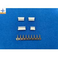 China 1A AC / DC PCB Wire Connectors , Wire To Board Connector Pitch 1.0mm With PA66 on sale