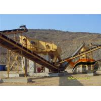 High Efficiency Granite Quarry Crushing Plant 100tph To 500tph Capacity Manufactures