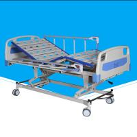 China Multi Function Fold Up Hospital Bed, Refurbished Hospital Bed With Wheels on sale