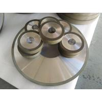 China PCD Resin Bonded Diamond Grinding Wheels For Edge Grinding Machine High Precision on sale