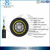 China ADSS Fiber Optic Cable Self-Supporting optical fiber cable manufacturer for Power Transmission Line on sale