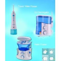 Portable Ultrasonic Oral Irrigator Water jet Flosser For Home / Traveling Use Manufactures