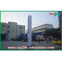 China 2m Oxford Cloth Inflatable Lighting Decoration Pillar With Logo on sale