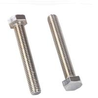 Steel Structure Hex Tap Bolts Fully Threaded , Grade 8.8 Long Hex Head Bolts Manufactures
