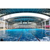 Energy Savings Prefabricated Steel Structures Swimming Pool Roof Covers Manufactures