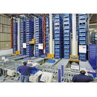 Warehouse Automated Storage And Retrieval System Computer Control Easy Manage Manufactures