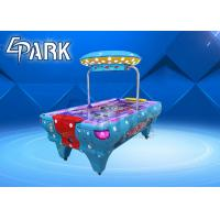 China Commerical Kids Air Hockey Table Fun Exercise Game Machine With Led Light on sale