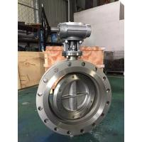 API609 Large Size Flanged Triple Offset double Butterfly Valve,Stainless Steel Flanged Triple Offset Butterfly Valve Manufactures