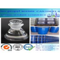 Isopropyl Acetate Chemical Solvents Dehydrating Agent CAS 108-21-4 C5H10O2 Manufactures