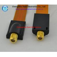 F female to F female flat coupler cable for RG6 RG-6 Flat Cable TV Coaxial Cable Coupler Manufactures