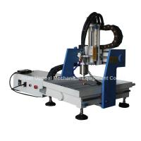 Buy cheap Desktop 360*360mm Mini CNC Metal Carving Machine with DSP Control from wholesalers