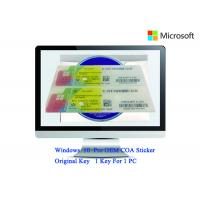 Authentic Windows 10 Product Key 32bit/64bit Operating Systems COA X20 Full Version Software Manufactures