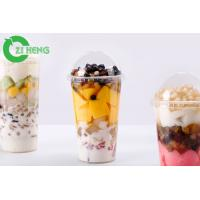 Grease Resistant Plastic Drink Lids Recyclable Clear Non Spill Eco Friendly Manufactures
