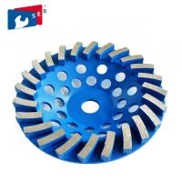 125mm Diamond Cup Wheel , Single Row Cup Wheel Fit Grinding And Polish Marble Manufactures