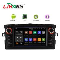 Quality Canbus Radio Portable Dvd Player For Car , Auris Toyota Dvd Entertainment System for sale