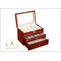 25 Watches Wooden Watch Display Case For Men Watches Women Watches Manufactures