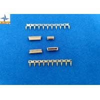 1.25mm Pitch Miniature Crimping Connector UL-listed Grey Color Lvds Display Connector Manufactures