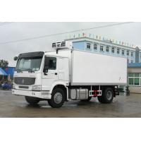 SINOTRUK Howo Refrigerated Box Truck 4x2 5 Tons Non Pollution Easy Assembly Manufactures