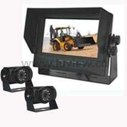 AM7502 Vehicle 7 Inch Waterproof Digital Car LCD Monitor 2 CH Video Inputs 800 R.G.B x480 Dots Waterproof Manufactures