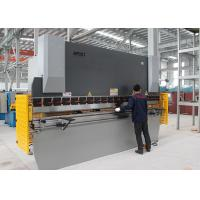 160T 3.2M NC Steel Press Brake Steel Bar Cutting And Bending Machine 11KW Power Manufactures