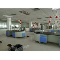 Steel / Wood Frame School Lab Furniture Workbench Equipment With Silent Sliding Rail Manufactures