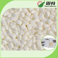 White Granule EVA And Viscosity Resin Spine Hot Melt  Glue For Bookbinding , Less Bubbles Manufactures