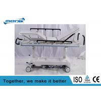 Economic Hydraulic Patient Transfer Trolley  Double Column With Radio Translucent Platform Manufactures