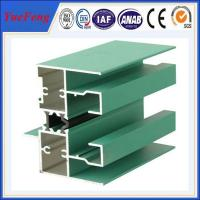 Spider glass curtain wall with strong aluminium supporting frame,aluminum window frames Manufactures