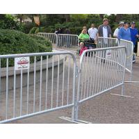 China Crazy Crowd Control Barriers / Temporary Fence Panel Corrosion Resistence on sale