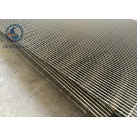 Stainless Steel 316 Wedge Wire Mesh For FIlter Sieve Screening 486 Width Manufactures