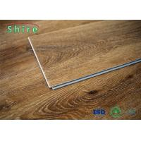 China Hard - Wearing Rigid Core Vinyl Plank Flooring , Waterproof Wood Look Vinyl Flooring on sale
