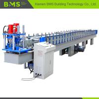 Quality High Speed T Profile Rolling Shutter Door Frame Making Machine 12-15m/Min for sale