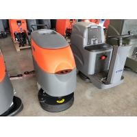 Dycon Hand Push Battery Powered Floor Scrubber With Two Cup Seat For Factory Manufactures
