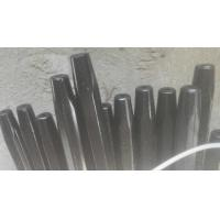 H25x159mm Steel Rock Drill Rod / Mining Tapered Hex Drill Rod 800mm-6100mm Length Manufactures