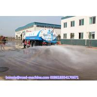 China Self Suction Liquid Tanker Truck , 336HP 20000L 20M3 20 tons Water Tank Truck on sale