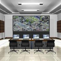 3 x 4 Pieces 42-inch Spliced LCD Video Walls with HDMI, VGA, RS232, CVBS Port Manufactures