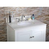 36 Inch Artificial  Granite Vanity Tops , Cultured Marble Vanity Tops For Hotel Manufactures