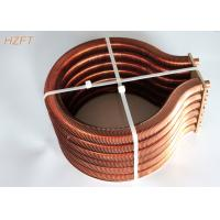 China Extruded Copper / Cupronickel Finned Tube Coils for Water Heater Boiler on sale